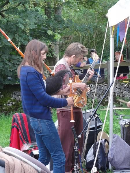 Green Angels at Priddy Folk Festival